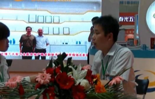潍坊展会中铝网采访山东飞度胶业科技有限公司丁法政