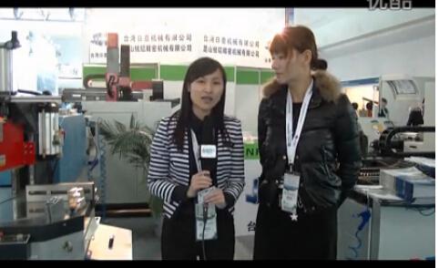 中国国际门窗幕墙博览会:中铝网专访日意机械