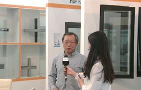 第五届中国(临朐)家居门窗博览会:专访现代门窗