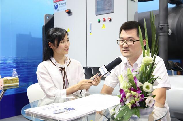 2018中国国际铝工业展:专访华兆制冷